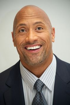 Pin for Later: Here's What 14 Hot Celebrity Guys Would Look Like on a Date With You Dwayne Johnson, After You Offer to Buy the Next Round