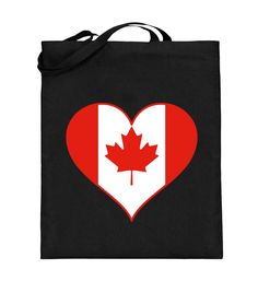 Jutebeutel Kanada T-Shirt