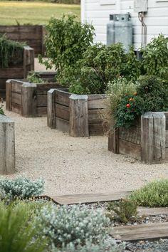 Farmhouse Landscaping, Farmhouse Garden, Landscaping Plants, Outdoor Plants, Outdoor Gardens, Australian Native Garden, Coastal Gardens, Side Garden, Vegetable Garden Design