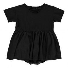 Robe Body Poupy Noir