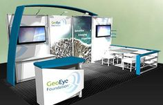 FIVE TIPS FOR EFFECTIVE TRADE SHOW BOOTH GRAPHICS (10x20 booth)
