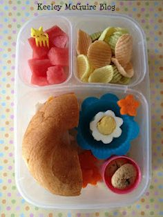 I love the idea of bento boxes for kids' lunches. The kids are much more likely to eat and enjoy their food when it's so beautifully presented.