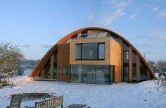architects use of quonset buildings - Google Search