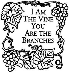 Coloring Pages Vine And Branches Coloring Page