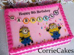 Corrie Cakes renews my faith in sheet cakes!
