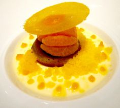 Alexander Lobrano - Author of Hungry for Paris & France - Page 2 of 62 Orange Dessert, Orange Recipes, Plated Desserts, Delicious Desserts, Mandarin Oranges, Dessert Ideas, Breakfast, Ethnic Recipes, Vibrant