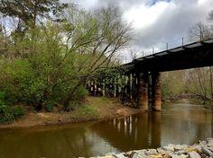 Greenbelt / Alabama Street & Columbia Drive area #carrolltonga #greenbelt #bike #train #railroad #thecitymenus