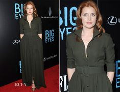 Amy Adams In Max Mara – 'Big Eyes' New York Premiere