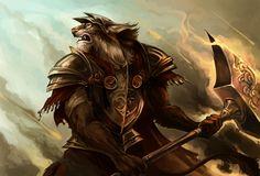 Lynx warrior by *sandara on deviantART