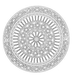 To print this free coloring page «coloring-mandala-adult-1», click on the printer icon at the right