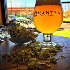 get your GREEN in today via Mosaic and Citra hops! This week's Randall is Houblon with an extra hop infusion- bright and floral just like this beautiful St. Patrick's Day!  MANTRA Tap Room open 3p-9p today  #whatisyourmantra #stpatricksday #greenbeer