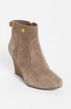 952295e545eee7 Tory Burch  Milan  Wedge Bootie- top of my fall boot wish list!
