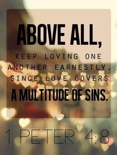 1 Peter 4:8