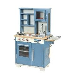 Blue Wooden Play Kitchen kidkraft sweet treats kitchen | kidkraft wooden toys | pinterest