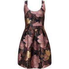 Phase Eight Damen Kleid Alissa mit gestickten Blumen mint 38