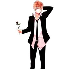 Sakamaki Brothers in suits renders ❤ liked on Polyvore featuring diabolik lovers, people and drawings