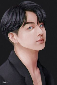 Jungkook Fanart, Anime Fanart, Photoshop, Art, Chibi Sketch, Fan Art, Wattpad Covers, Dark Fantasy Art, Wattpad