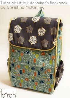 Little Hitchhiker's Backpack – Free Tutorial | PatternPile.com