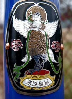 Ornate #Kalavinka #headbadge @boneshakermag #headbadges via @tomjohn001