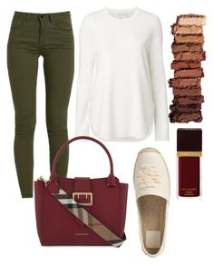 """""""Untitled #274"""" by ana-gabriela801 on Polyvore featuring Witchery, Urban Decay, Tom Ford, Tory Burch and Burberry"""
