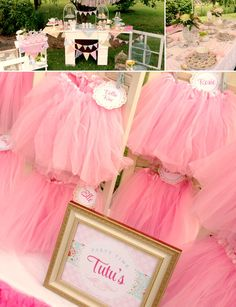 A TUTU PARTY!!! Adorable Teacups + Tutus Party Inspiration + Photos!