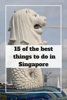 15 of the best things to do in Singapore   Ladies What Travel