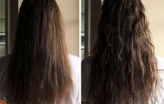 UPDATE: This post originally ran on May 23 2012, almost exactly a year ago! We still love this easy home remedy so much, we can't wait to use it again this summer! I always think my hair looks best after a day at the beach, when the sea salt and sun combine to create loose,