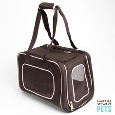 Get ready to hit the road for #SpringBreak. #MarthaStewartPets Pet Carrier only @petsmartcorp