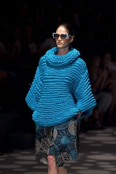 From Brazil with love....Ronaldo Fraga - knitwear, here to stay.... Autumn Winter 2013 Collection,