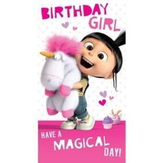 Despicable Me Carte d'anniversaire fille