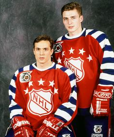 1992 All Star game. Stevie Y and Sergi Fedorov won fastest skater in NHL Detroit Red Wings, Detroit Sports, Sports Teams, Detroit Tigers, Steve Yzerman, Red Wings Hockey, Detroit History, Baltimore Colts, Star Wars