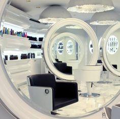 Aida - Styling Salon Chair. Collezione Privata by Marcel Wanders