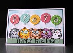 Freya birthday card | by just kate2013