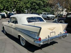 1957 Chevy Convertible...Brought to you by agents at #HouseofInsurance in #EugeneOregon for #LowCostInsurance.