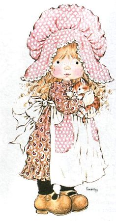 Who Is the Artist Sarah Kay - - Yahoo Image Search Results Sarah Key, Holly Hobbie, Vintage Pictures, Cute Pictures, Hobby Horse, Digi Stamps, Illustrations, Cute Illustration, Vintage Cards