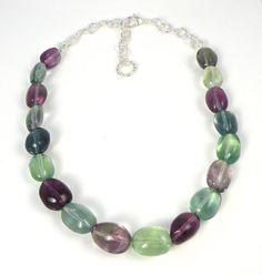 SS 2012 Collection.  Fluorite Swarovski Crystal Necklace by Liana  Casanova Collection, $129.00