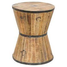 cellar hourglass, mango wood, wine barrel, furnitur, hilton hourglass, wine cellars, hourglass stool, decor idea, stools