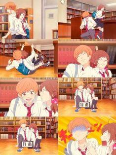 Ao Haru Ride we finally meet kikuchi-kun on the anime.then he falls for her. Anime Nerd, Anime Manga, Ao Haru Ride Anime, Tanaka Kou, Futaba Y Kou, Aho Girl, Tsurezure Children, Otaku Issues, Blue Springs Ride
