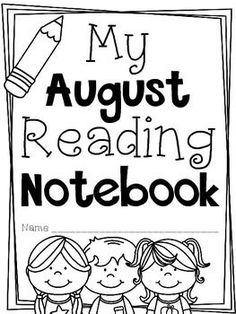 This product is part of a series of monthly reading log and book response pages. My littles will complete these pages during their independent reading time...they will work with any book they are reading (fiction and nonfiction are included.) I included a cover page in case you want to staple the entire packet for your littles to work on throughout the month!