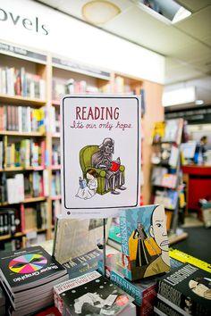 Be a reader!