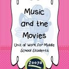Music and the Movies   This resource is designed for Music students in the Middle School. The unit includes lessons on History of Film Music throug...