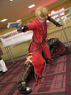 Amazing Vash Cosplay.  Love the attention to detail