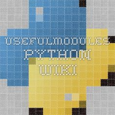 UsefulModules - Python Wiki