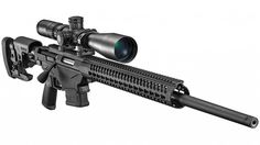 Sturm, Ruger & Company announces the introduction of the Ruger Precision Rifle. The bolt-action rifle is available in Win, Creedmoor, and Win. Ruger Precision Rifle 308, Winchester, Tactical Life, Tactical Gear, Bolt Action Rifle, Hunting Rifles, Cool Guns, Guns And Ammo, Firearms