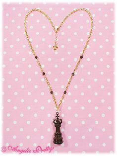 Chess King Necklace