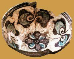 İznik, bowl, 14th century, diameter: 16,5 cm, İznik excavation 1983  (Erdinç Bakla archive)