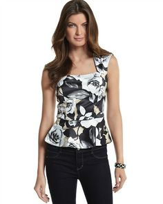 5010403ee6d White House | Black Market Paisley Snake-Print Pencil Skirt #whbm. See  more. i'd like to think this would look good too. Shell Tops, Square