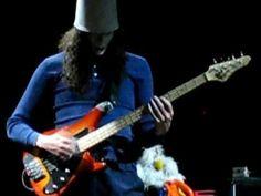 BUCKETHEAD on BASS guitar!  Wow.
