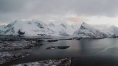 Otherworldly Norway is known for its seaside villages, epic landscapes of snow and ice, and (surprisingly) turquoise waters. Onward for the video. Gopro Hero 4 Black, Seaside Village, Norway Travel, Lofoten, Turquoise Water, Facebook, Vacation Destinations, Oh The Places You'll Go, Beautiful Landscapes