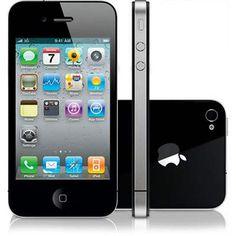 Celular Apple iPhone 4 8GB Preto Desbloqueado de Fábrica. R$1.099